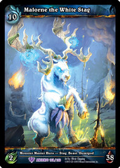 Malorne the White Stag - Extended Art