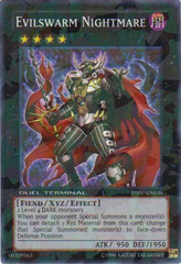 Evilswarm Nightmare - DT07-EN039 - Super Parallel Rare - Duel Terminal on Channel Fireball