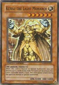 Kuraz the Light Monarch - LODT-ENSE1 - Super Rare - Limited Edition