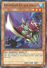 Atlantean Attack Squad - SDRE-EN006 - Common - 1st Edition on Channel Fireball
