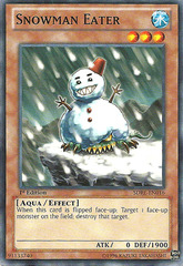 Snowman Eater - SDRE-EN016 - Common - 1st Edition