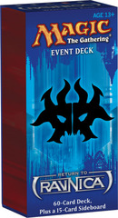 Return to Ravnica Event Deck: Wrack and Rage on Channel Fireball