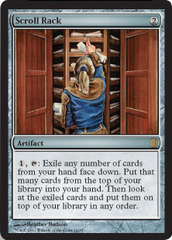 Scroll Rack on Channel Fireball