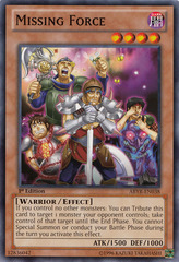 Missing Force - ABYR-EN038 - Common - 1st Edition