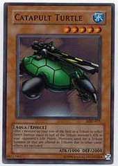 Catapult Turtle - MRD-075 - Super Rare - 1st Edition