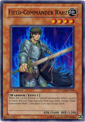 Field-Commander Rahz - PTDN-EN030 - Super Rare - 1st Edition