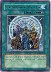 Six Samurai United - PTDN-EN059 - Rare - 1st Edition