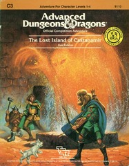 AD&D: C3 The Lost Island of Castanamir 9110