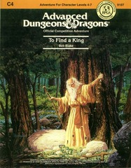 AD&D: C4 To Find a King 9107