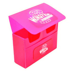 Pink Double Matte Deck Box (Monster)