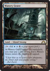 Watery Grave - Foil on Channel Fireball