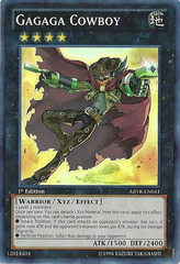 Gagaga Cowboy - ABYR-EN041 - Super Rare - Unlimited Edition on Channel Fireball