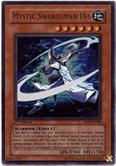 Mystic Swordsman LV6 - RDS-EN008 - Ultra Rare - 1st Edition