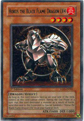 Horus The Black Flame Dragon LV4 - SOD-EN006 - Rare - 1st Edition