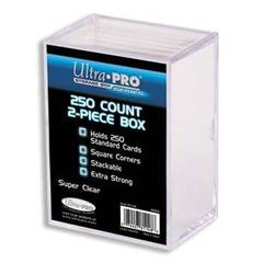 Clear 2-piece Deck Box 250 ct