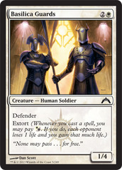 Basilica Guards - Foil on Channel Fireball