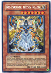 Neo-Parshath, the Sky Paladin - STON-EN061 - Secret Rare - 1st Edition