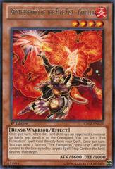 Brotherhood of the Fire Fist - Gorilla - CBLZ-EN023 - Rare - 1st Edition on Channel Fireball