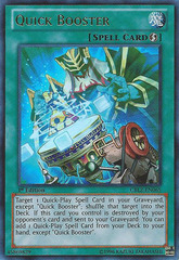 Quick Booster - CBLZ-EN065 - Ultra Rare - 1st Edition