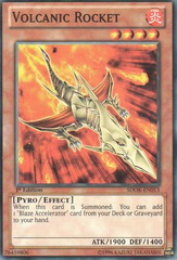 Volcanic Rocket - SDOK-EN013 - Common - 1st Edition