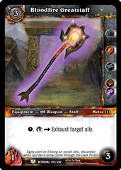 Bloodfire Greatstaff