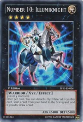 Number 10: Illumiknight - SP13-EN026 - Common - Unlimited Edition