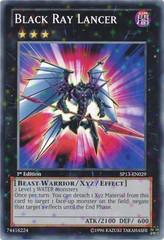 Black Ray Lancer - SP13-EN029 - Starfoil Rare - Unlimited Edition on Channel Fireball