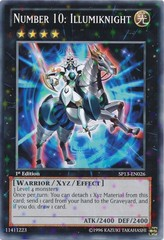 Number 10: Illumiknight - SP13-EN026 - Starfoil Rare - Unlimited Edition