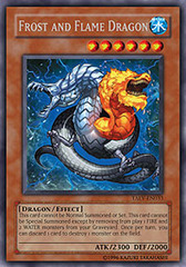 Frost and Flame Dragon - TAEV-EN033 - Secret Rare - 1st Edition
