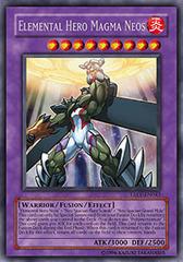 Elemental Hero Magma Neos - TAEV-EN043 - Secret Rare - 1st Edition
