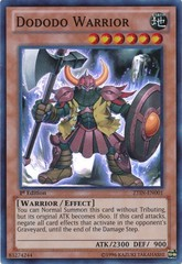 Dododo Warrior - ZTIN-EN001 - Super Rare - 1st Edition