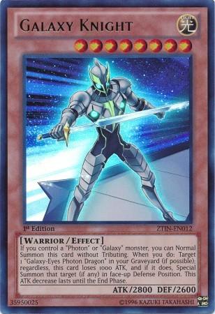Galaxy Knight - ZTIN-EN012 - Ultra Rare - 1st Edition