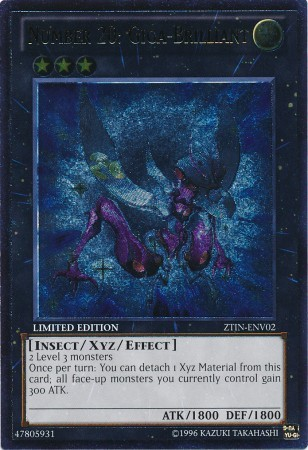 Number 20: Giga-Brilliant - ZTIN-ENV02 - Ultimate Rare - Limited Edition