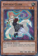 Gagaga Clerk - CBLZ-EN008 - Super Rare - Unlimited Edition