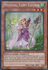 Mystical Fairy Elfuria - CBLZ-EN085 - Secret Rare - Unlimited Edition