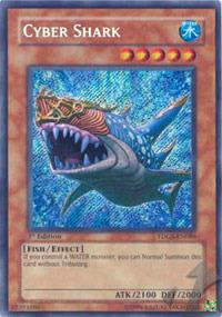 Cyber Shark - TDGS-EN086 - Secret Rare - 1st Edition