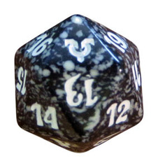 Magic Spindown Die - Avacyn Restored Black