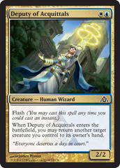Deputy of Acquittals - Foil on Channel Fireball