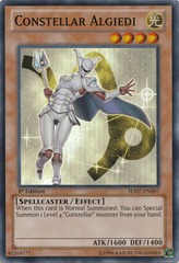 Constellar Algiedi - HA07-EN007 - Super Rare - 1st on Channel Fireball