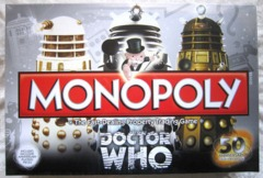 Monopoly - Doctor Who 50th Anniversary Collectors Edition