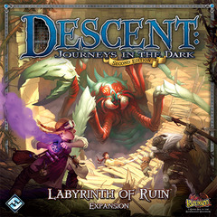 Descent Second Edition: Labyrinth of Ruin Expansion on Channel Fireball
