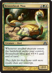 Bronzebeak Moa on Channel Fireball