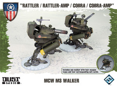 Dust Tactics: MCW M3  Walker -