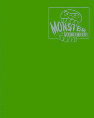 4-Pocket Monster Binder - Matte Emerald Green