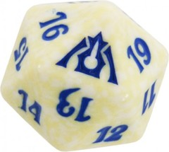 20 Sided Spindown Die - Dragon's Maze (Azorius) on Channel Fireball