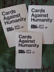 Cards Against Humanity PAX East 2013 Promo Packs