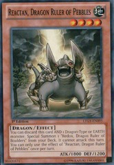 Reactan, Dragon Ruler of Pebbles - LTGY-EN095 - Common - 1st
