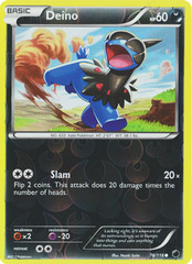 Deino - 76/116 - Common - Reverse Holo