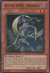 Destiny HERO - Departed - LCGX-EN136 - Common - Unlimited Edition