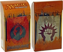 Dragon's Maze Prerelease Kit - Izzet/Boros